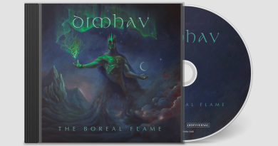 "Swedish Progressive/Power Metal Act DIMHAV Releases ""The Boreal Flame"" CD"